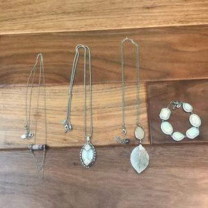 Charming Charlie Crystal Necklace Bundle